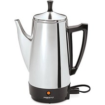 Presto 02811 12-Cup Stainless Steel Coffeemaker, Chrome - €46,20 EUR