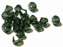 25pcs 3mm SWAROVSKI CRYSTAL FACETED BICONE BEADS - You Choose the Color image 15
