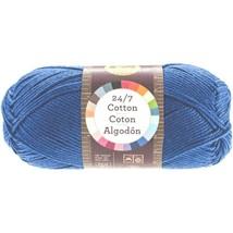Lion Brand 27/7 Cotton - Navy- 100% Mercerized Cotton