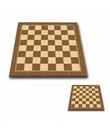 "Professional Tournament Chess Board No. 4P BROWN  - 1,75"" / 45 mm field - $57.92"