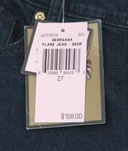 Juicy Couture Black Label Georgiana Stretch Flare Denim Jeans 27 NWT image 2