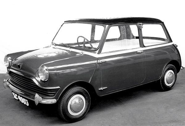 Primary image for 1958 Austin Mini Prototype - Promotional Photo Poster