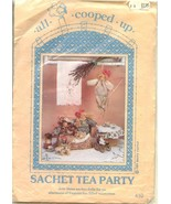 """All Cooped Up Sachet Tea Party 9"""" pot-pourri fragrance Dolls Sewing Pattern - $6.99"""