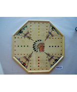 WAHOO WA HOO BOARD GAME 20 x 20 inch. Octagon. 4 player with images.  KK18 - $51.95