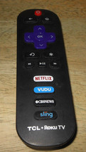 Tcl Smart Hdtv Remote For Tcl Roku - $12.58