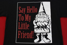Garden Gnome, Little Friend, Medium Mens T-Shirt - $7.95