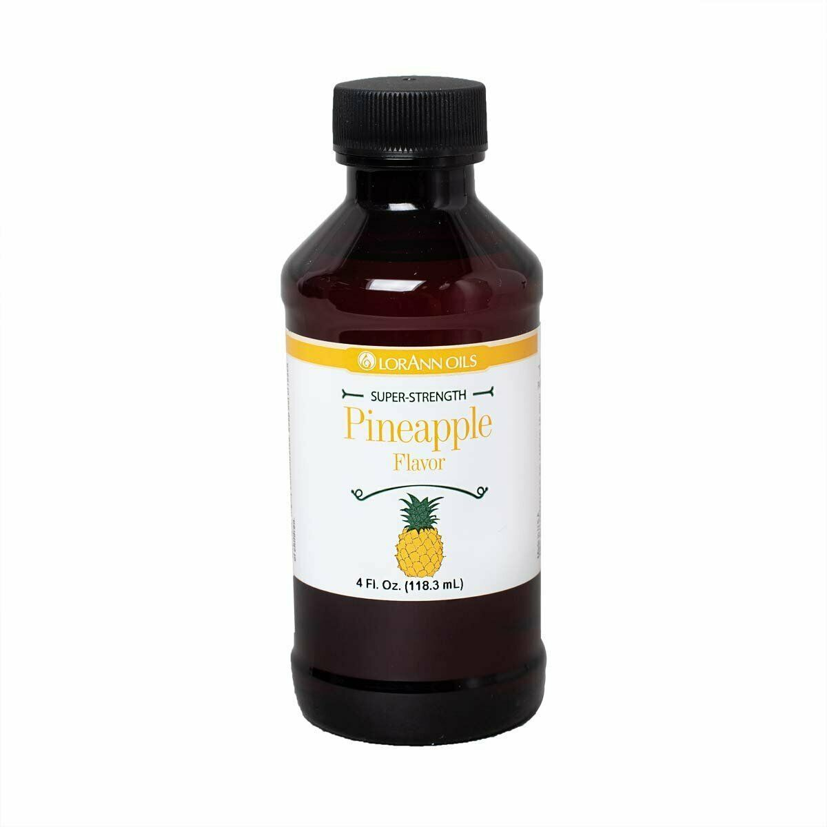Primary image for LorAnn Super Strength Pineapple Flavor, 4 ounce bottle