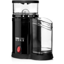 Professional Electric Coffee Burr Grinder Kitchen Grind Size 3 Cup Frenc... - £16.61 GBP
