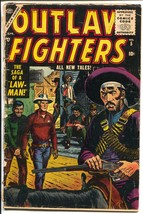 Outlaw Fighters #5 1955-Atlas-Russ Heath-P/FR - $22.35