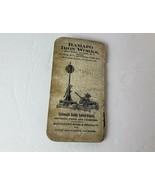 Vintage 1917 Ramapo Iron Works of New York Pocket Calendar - Railroad Related - $16.82