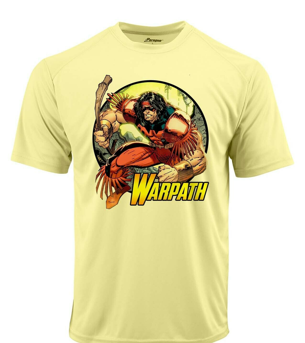 Warpath dri fit graphic tshirt moisture wicking superhero comic book spf tee 2