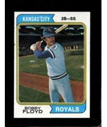 1974 TOPPS #41 BOBBY FLOYD EX ROYALS SET BREAK  *AA0988 - $0.99