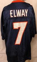 VTG Starter John Elway Denver Broncos #7 Football Jersey Sz 52 NFL Mesh Nineties - $42.07