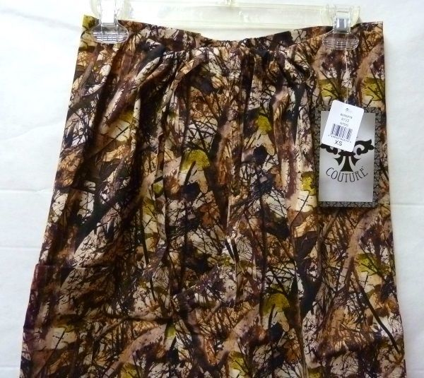 Med Couture XS Peaches Uniforms Unisex Natural Disguise Camo Scrub Set New image 5