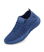 ZOCAVIA Running Shoes for Women Slip On Fly Knit Tennis Walking Gym Snea... - $33.83