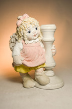 Dreamsicles: Girl Cherub - DC381 - Candle Holder - Classic Figure - $25.53