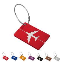 Travel Luggage Bag Tag Name Address ID Label Aluminium Suitcase Baggage - $2.00