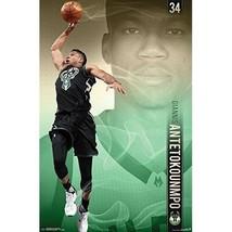 Giannis Antetokounmpo NBA Wall Poster Basketball Milwaukee Bucks Superst... - $17.95