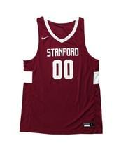 Nike Stanford Stock Fadeaway Basketball Jersey Men's Large Shirt Maroon CQ4349 - $39.59