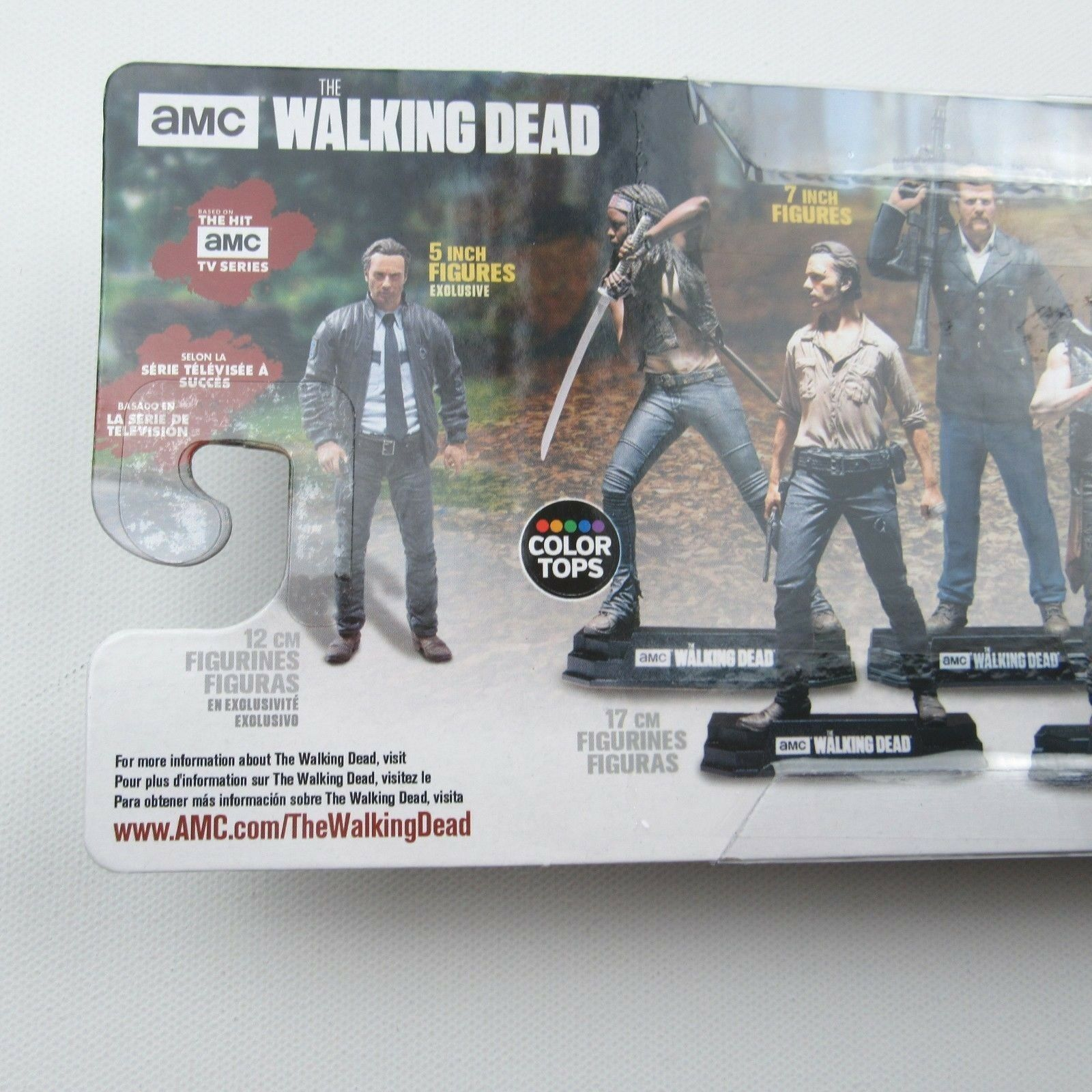 "The Walking Dead Series 10 Rick Grimes Exclusive 5"" inch Action Figure Toy New"