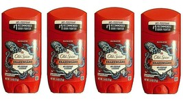 ( LOT 4 ) OLD SPICE KRAKENGARD Anti-perspirant Deodorant 2.6 oz Ea Exp: ... - $34.61