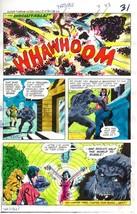 1978 DC Comics JLA foes color guide art:Gorilla Grodd/Star Sapphire/Flor... - $99.50