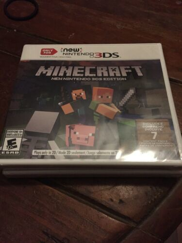 Primary image for Minecraft: New Nintendo 3DS Edition (New Nintendo 3DS, 2017) Free Shipping