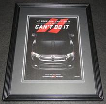 2011 Dodge Durango Framed 11x14 ORIGINAL Vintage Advertisement - $32.36