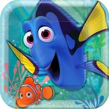 Finding Dory Square Dinner Party Plates - 9 Inch (8 Pack) - $4.94