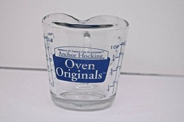 Anchor Hocking Oven Originals 8oz 1 Cup Glass Measuring Cup Blue - $11.87