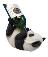 Atlantic Collectibles Adorable Bamboo Giant Panda Bear Decorative Wine B... - $21.99