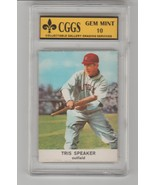 TRIS SPEAKER CGGS 10 GEM MINT 1961 Golden Press HOF - $49.46