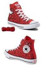 Converse X Hello Kitty Chuck Taylor All Star Hi Bows Sneaker Women Shoes... - $59.49
