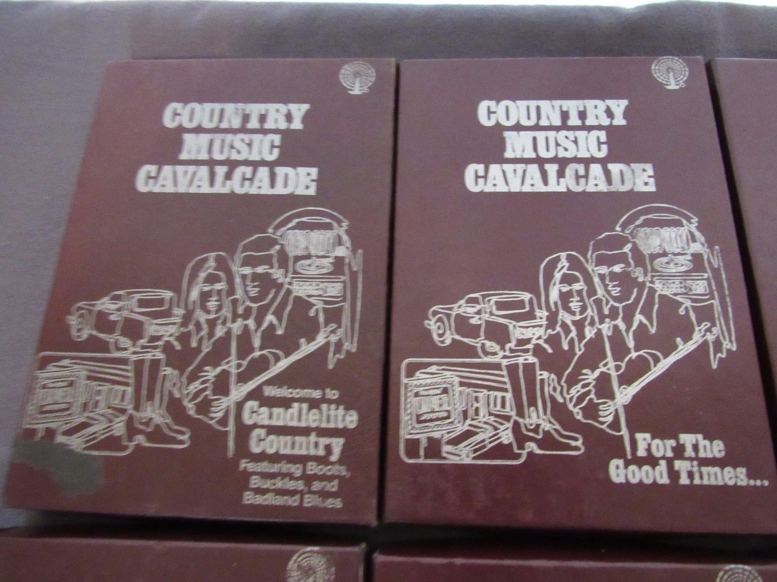 8-Track Lot Country Music Cavalcade 18 tapes