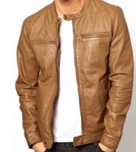 Man's & Boy 100% Genuine High Quality Soft Lambskin Leather New Designer... - $139.00