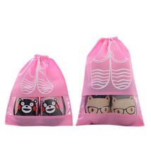 Travel Dust-proof Shoe Bags Drawstring Transpar... - $7.69