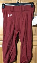 Men's Football Pant UNDER ARMOUR NWT Size Large Authentic Cardinal Red - $15.83