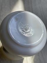 Pair of Vintage London Milk Glass Salt and Pepper Shakers image 6