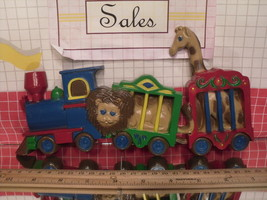 Burwood Animal Circus Train Plaque Set 3109 - $6.30