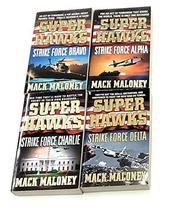 Superhawks 4 Book Set: Strike Force Bravo, Strike Force Alpha, Strike Fo... - $29.65
