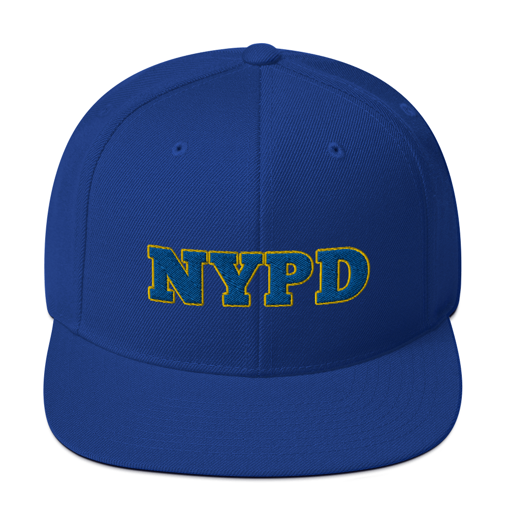 nypd yankees hat / nypd yankees / Snapback Hat