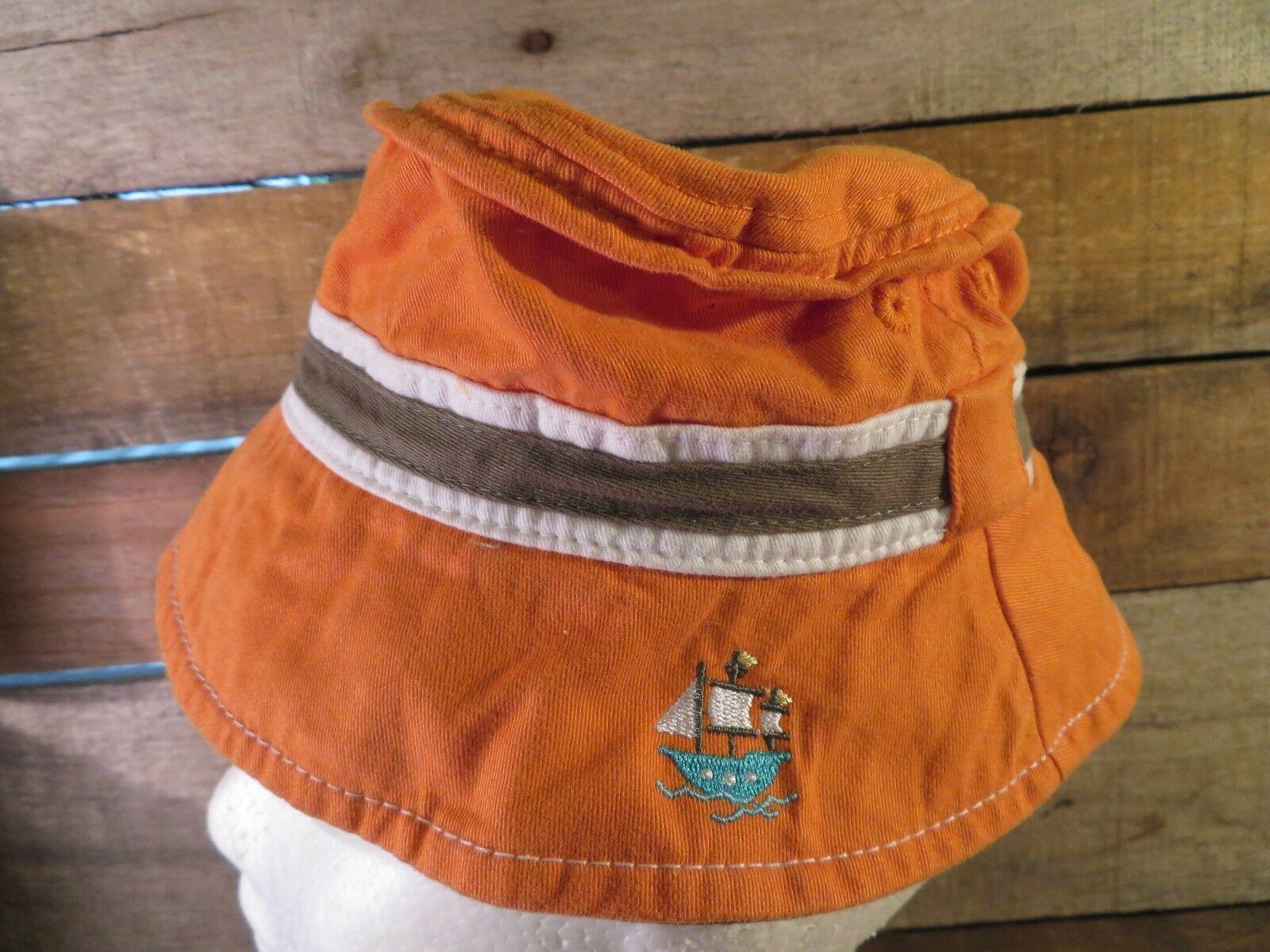 Barco de Vela Carter's Gorro Pescador Sombrero 3-9 Months Bebé Adulto