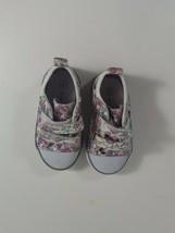 koala kids shoes girls purple, pink sparkle tennis shoes size 4  - $9.90