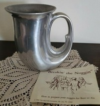 Vintage ~ Wilton Armetale ~ Noggin ~ Mug ~ Beer Ale Mug~ Pewter Mug ~ 1982 ~ 2 - $30.00