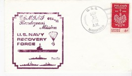 GEMINI GTA-11 NAVY RECOVERY FORCE PACIFIC USS MANSFIELD SEPT 15 1966 - $2.68
