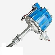 HEI DISTRIBUTOR 65KCOIL For Early Chevrolet Straight 6 41-62 194 216 235 BLUE image 3