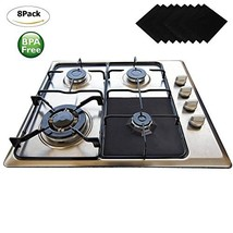 Gas Range Protectors 8 Pack - Wellvo Stove Protector Cook Top Liners Hob... - $17.70