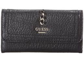 1 new guess Abbey Ray Slim Clutch black - $35.00