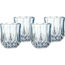 Eclat Cristal Darque's Longchamp Double Old Fashioned Glasses Set of 4 (... - $24.74