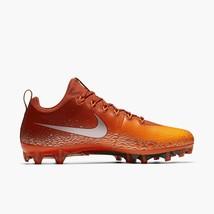 Nike Vapor Untouchable Pro Football Cleats Mens Size 10 Orange 833385-606 - $54.95